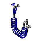 T&S Brass PG-1DREV Pet Grooming, Single Hole Deck Mount with Vacuum Breaker, 9' Coiled Hose & PG-35Av Sprayer