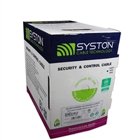 SYSTON CABLE 5517 – 22 AWG 6/C STRANDED SHIELD SECURITY/CONTROL CL3R/CMR