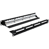 WaveNet 5EPP24-S CAT5E 24-Port Patch Panel