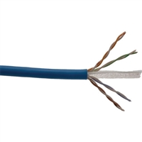 comCABLES Cat 6E Enhanced 4 Pair 23 AWG 550 MHz Plenum