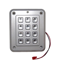 Cansec Keypad with Wiegand Output