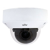 UNV 5MP WDR Starlight (Motorized) VF Vandal-resistant Network IR Fixed Dome Camera