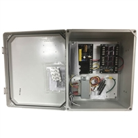PREFERRED POWER PRODUCTS 12VDC, 8 OUTPUT CCTV POWER SUPPLY