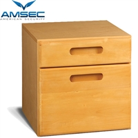 Amsec Two Drawer Storage Cabinet