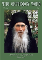 The Orthodox Word #314 Print Edition