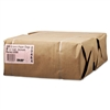#8 Paper Grocery, 57lb Kraft, Extra-Heavy-Duty 6 1/8x4 1/6 x12 7/16, 500 bags
