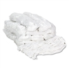 Pro Loop Web/Tailband Wet Mop Head, Rayon, #24 Size, White, 12/Carton