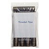 Write-On Recloseable Small Parts Bags, Poly, 6 x 9, Clear, 1000/Carton