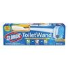 Toilet Wand Disposable Toilet Cleaning Kit: Handle, Caddy & Refills, 6/Carton