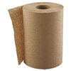 "Hardwound Roll Towels, 1-Ply, Natural, 8"" x 350 ft, 12 Rolls/Carton"