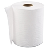 "Hardwound Roll Towels, 1-Ply, White, 8"" x 800 ft, 6 Rolls/Carton"