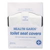 Health Gards Toilet Seat Covers, White, Paper, Quarter-Fold, 200/PK, 25 PK/CT