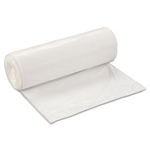 Low-Density Can Liner, 38 x 58, 60gal, .7mil, White, 25/Roll, 4 Rolls/Carton