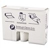 High-Density Can Liner, 40 x 46, 45gal, 14mic, Clear, 25/Roll, 6 Rolls/Carton