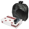 Low-Density Can Liners, 33gal, .6mil, Black, 200/Carton