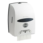 Windows Sanitouch Roll Towel Dispenser, 12 63/100w x 10 1/5d x 16 13/100h, White