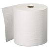 "Hard Roll Towels, 8"" x 600ft, White, 6 Rolls/Carton"