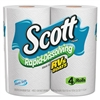 Rapid Dissolving Tissue, 1-Ply, 264 Sheets, 4 Roll/Pack