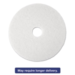 "Super Polish Floor Pad 4100, 17"", White, 5/Carton"
