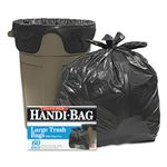 Super Value Pack Trash Bags, 30gal, .65mil, 30 x 33, Black, 60/Box