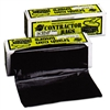 Heavyweight Contractor Bags, 36 x 56, 55gal, 3mil, Black, 30/Box