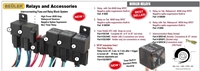 5084 - ACCELE - WATERPROOF - 40/60 Relay with built in circuit protection