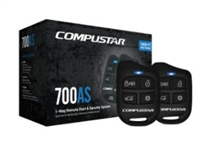 CS700-AS - COMPUSTAR LT ALL-IN-ONE SYSTEMS - LT 4-Button 1-Way, 1000-Ft Remote Start + Security System