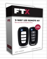 FTX1105-S - FTX ALL-IN-ONE SYSTEMS - FTX 1105 1-Button 1-Way, 800-Ft Remote Start System, Blade-ready