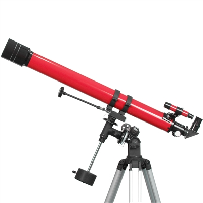 70mm Refractor Telescope Red