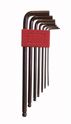 Metric arm ball end Hex key set