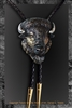 "Bison Bolo ""American Monarch"" by wildlife artist Daniel C. Toledo, Toledo Wildlife Works of Art"