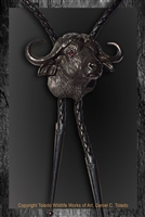 "Cape Buffalo Bolo ""Fearless"" by wildlife artist Daniel C. Toledo, Toledo Wildlife Works of Art"