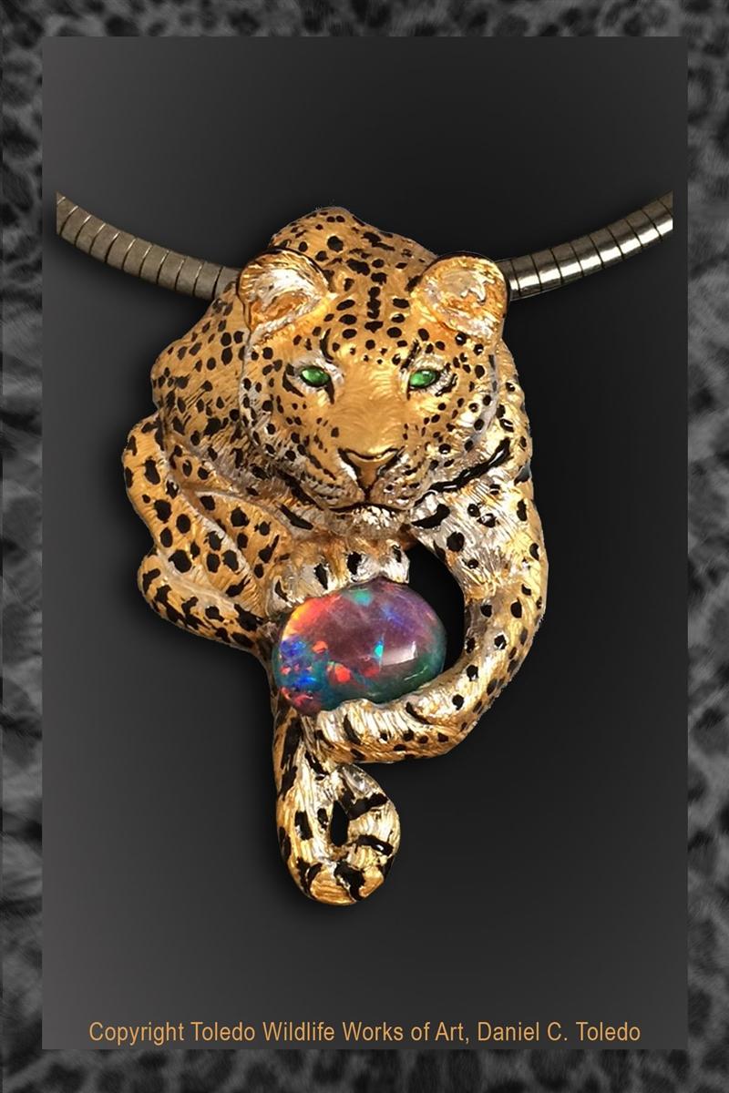 e456ac2ef Leopard Pendant
