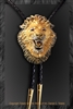 "Lion bolo ""Roar of Africa"" by wildlife artist Daniel C. Toledo, Toledo Wildlife Works of Art"