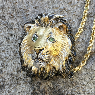 "LION ""KEEPER OF THE PRIDE"""