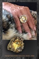 "LION RING ""DANIEL'S PRIDE"""