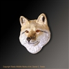 "Fox Pendant ""Foxie"" by wildlife artist and jeweler Daniel C. Toledo, Toledo Wildlife Works of Art"