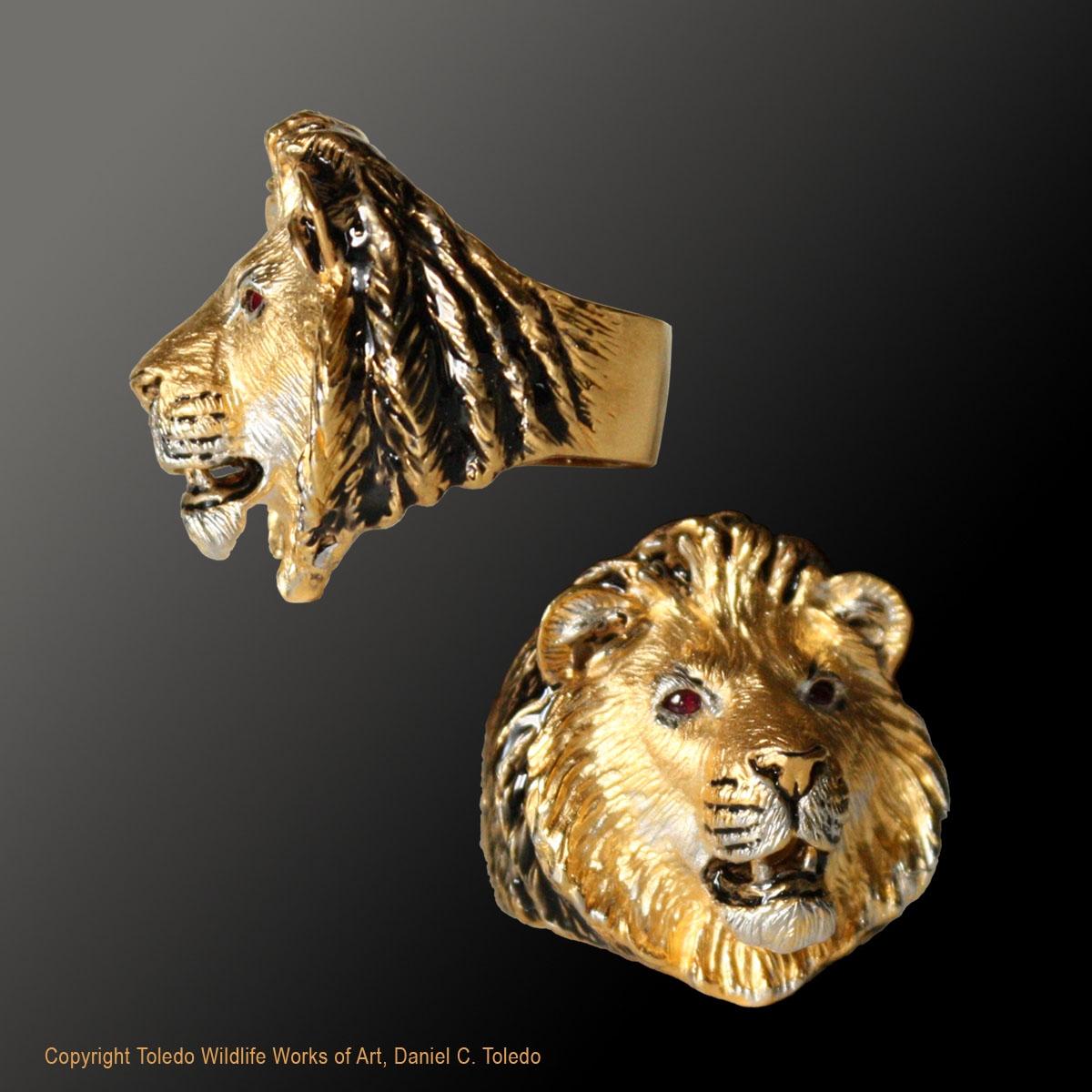 dcd6a23b2 Lion Ring