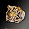 "Tiger Ring ""Royal Bengal"" by wildlife artist and jeweler Daniel C. Toledo, Toledo Wildlife Works of Art"