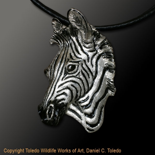 68552d77f Zebra Pendant