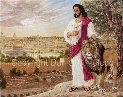 "GICLEE PRINT ""LION OF THE TRIBE OF JUDAH"""