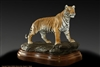 "Bronze tiger sculpture ""All Heart, Bengal Tiger"" by wildlife sculptor Daniel C. Toledo, Toledo Wildlife Works of Art"