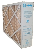 Clean Comfort 16x25x5 MERV 11 Filter (Honeywell/Healthy Climate Replacement Filter)