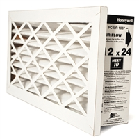 "Honeywell 12"" x 24"" FC40R-1037 MERV 10 Return Grille Filter"