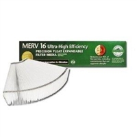 Lennox x8312 MERV 16 Expandable Filter 2 Pack