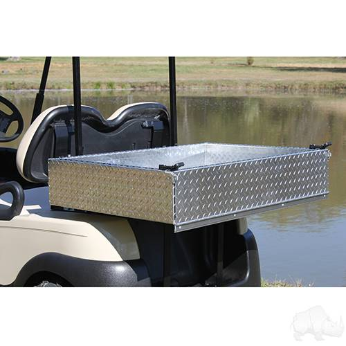 Club Car Precedent Kit - Aluminum Utility Box w/ Mounting Kit