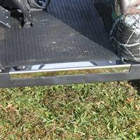 EZGO TXT Driver Side Sill Plate Chrome