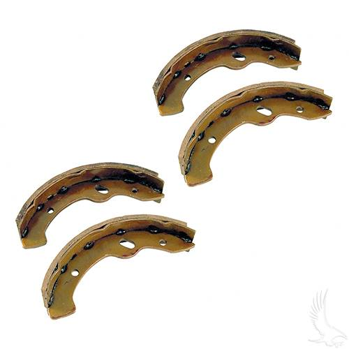 EZGO Brake Shoes Set of 4 1996-2009.5