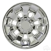 "8"" Driver Chrome Wheel Cover  - Set of 4"