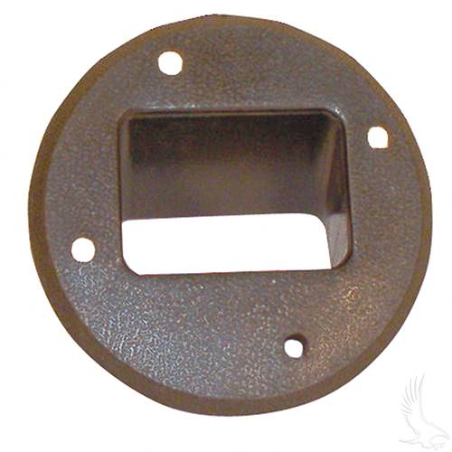 Club Car 36V Electric 85+ DC Receptacle Bezel